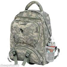 Extreme Pak Digital Camo Camouflage Padded Straps Water-Resistant Backpack Pak