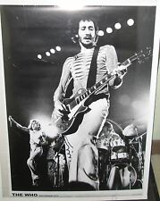 PETE TOWNSEND THE WHO LIVE ROTTERDAM 75 RARE NEW POSTER MID 2000'S VINTAGE