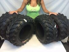 (2) 25-8-12 & (2) 25-10-12 ATV GBC Dirt Devil TIRES 6 ply 25x8x12 25x10x12