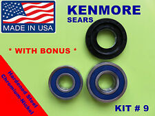 FRONT LOAD WASHER,2 TUB BEARINGS AND SEA, Kenmore,Sears, KIT # 9 ,