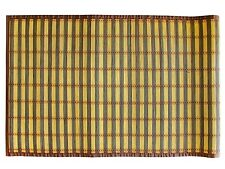 "Textiles Plus 100% 24"" x 60"" Natural Bamboo Floor Mat/Runner BM2460 New"