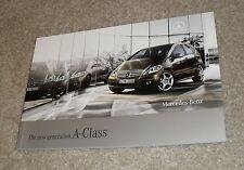Mercedes A Class Brochure 2008 A160 CDI A180 CDI A150 A170 Classic Avantgarde SE