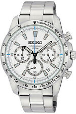 SEIKO SSB025P1,Men's CHRONOGRAPH,STAINLESS STEEL CASE,100M WR,SSB025