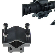 Universal 20mm Clamp on Rail Barrel Mount Clamp for Rifle Gun Scope Sight Light