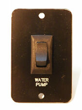 *NEW*SIGMA BLACK 16A WATER PUMP SWITCH RV CAMPER MARINE 5TH WHEEL MOTORHOME
