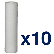 """10pk 50 Micron Sediment Water Filter 10"""" ideal for Reverse Osomosis"""