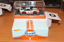 Hot Wheels RLC Sold Out GULF Racing PORSCHE 993 GT2 Red Line Club Exclusive NEW