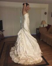 Romona Keveza Custom Made Mermaid Style Wedding Dress (original price 17,500!)