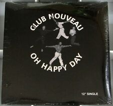 CLUB NOUVEAU Oh Happy Day 4 mixes 12 inch NEW 1992 JVK EDWiN HAWKiNS