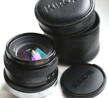 KIRON MC 28mm f2  for CANON FD mirrorless cameras JAPAN EXCELLENT