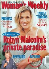 NZ-WOMAN'S WEEKLY-ROBYN MALCOLM-CAMILLA PARKER BOWLES-LUCY LAWLESS-WOOL AD-XENA