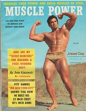 Vintage Muscle Power Bodybuilding fitness magazine Armand Tanny 10-57