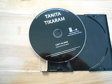 CD Pop Tanita Tikaram - Can't Go Back (1 Song) Promo EAR MUSIC / EDEL disc only