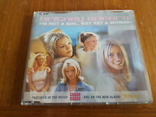 Britney Spears ‎– I'm Not A Girl, Not Yet A Woman Cat No. 9253472  Cd Single