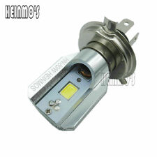 H4 Hi/Lo Beam 12W DC 12V Motorcycle LED headlights 6000K Motor Lighting Bulb ATV