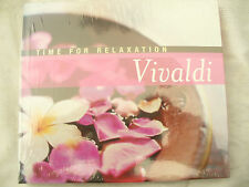 DOUBLE CD VIVALDI TIME FOR RELAXATION brand new & fully sealed