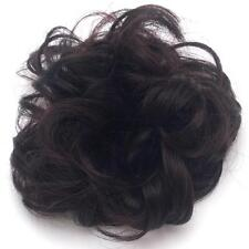 Woman's Girl's Curly Ponytail Holder Hairpiece Wig Scrunchie Hair Ring Bun - LD