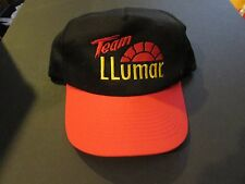 Team Llumar Unlimited Hydroplane Embroidered Baseball Cap Black & Red