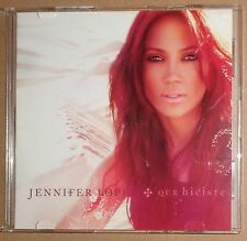Jennifer Lopez - Qué Hiciste (CD, Single, Promo) 2007  - Radio, Album versions