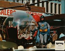 BATMAN THE MOVIE (1966) French Lobby card #4 (9x11.5) ADAM WEST SUPER RARE