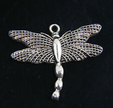 40 x Tibetan Silver Dragonfly  Pendants Charms For Jewelry Making