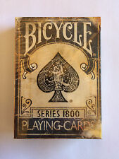 SERIES 1800 MARKED VINTAGE BLUE BICYCLE DECK OF PLAYING CARDS MAGIC TRICKS GAFF