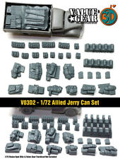 1/72 scale Vo3d2 WW2 Allied Jerry Can Set (37 Pieces)