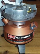 NEW Coleman Exponent Multi-Fuel Stove Model # 550B725 US Military Issue USAF