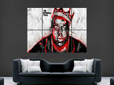 La Notorious Big Biggie bien Biggy gigante de pared de arte cartel impresión de foto Grande