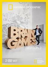Brain Games: Season 2 (DVD, 2013, 2-Disc Set) FREE SHIPPING