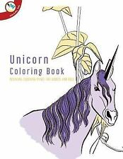 Unicorn Coloring Book. Relaxing Coloring Pages for Adults and Kids by Super...