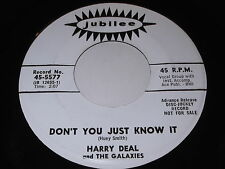 Harry Deal and The Galaxies: Don't You Just Know It / Salty Dog 45