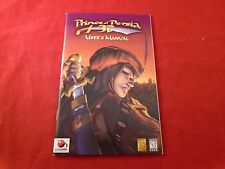 Prince of Persia 3D Computer PC Instruction Manual Booklet ONLY