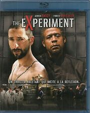 BLU-RAY--THE EXPERIMENT--BRODY/WHITAKER/GIGANDET/COLLINS