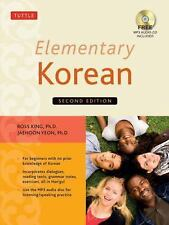 Elementary Korean by Ross King and Jaehoon Yeon (2014, Paperback)