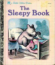 A Little Golden Book: The Sleepy Book - VGC