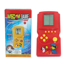 Hot Sale! 90S Tetris Game Hand Held LCD Electronic Game Toys Nostalgic Kids Toys