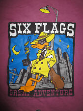 Vintage 1991 New Jersey SIX FLAGS GREAT ADVENTURE (SM) T-Shirt DAFFY DUCK