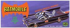 Polar Lights 1960's TV BATMOBILE W/ Batman and Robin figures  model kit 1/32