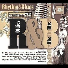 Oldies R&B by Various Artists (CD, Apr-2007, 3 Discs, St. Clair)