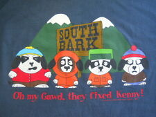 SOUTH PARK T Shirt Oh My Gawd they fixed Kenny!   Big Dogs