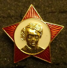 SOVIET CCCP RUSSIAN    BABY  LENIN   RED STAR  PIN BADGE  USSR /CCCP/ original