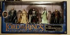 Lord of The Rings Return of The King Coronation Gift Pack 2004 MIB 5 Figures
