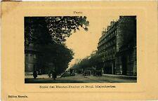 CPA PARIS 17e-Ecole des Hautes Etudes et Boulevard Malesherbes (322297)