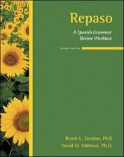 Repaso : A Spanish Grammar Review Worktext by David M. Stillman and Ronni L....