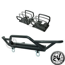 Tubular Front Bumper+Tail Light Steel Guards Cover for 87-06 Jeep Wrangler YJ TJ