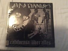 """Dead Kennedys-california Uber Alles/man With The Dogs 10"""" Lp Punk Cult UK Press"""