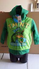 Childs Teenage Mutant Ninja Turtles Sherpa Hoodie Age 2 Years