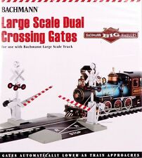 Bachmann G Scale Train Track Dual Crossing Gates 96214