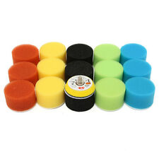 16pcs 2'' High Gross 50mm Polishing Buffing Pad Kit para Coche Pulidora Pulidor